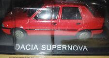 Dacia SuperNova Rossa - Scala 1:43 - DeAgostini - Nuova
