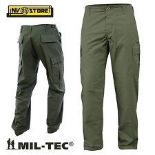 Pantaloni Militari Mil-tec BDU Ripstop Cargo con tasconi Softair Survivor OD L (50-52)
