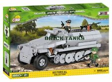 251/9 Half-track Ausf. C ('Stummel') - COBI 2472A - 460 brick half-track