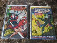 Marvel Amazing Spider-Man #101 & 102 1971 1st * 2nd Appearance Morbius