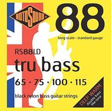 Rotosound Tru Bass Jeu de cordes pour basse en Nylon Fi(diapason Long)