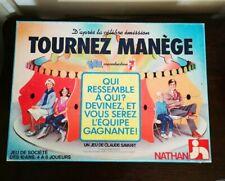 Rare Vintage 1987 TOURNEZ MANÈGE Nathan TF1 Et Télé 7 Jours