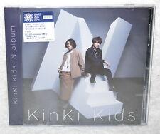 KinKi Kids N album 2016 Taiwan Ltd CD+DVD+24P booklet