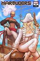 MARAUDERS #14 (DAVID NAKAYAMA EXCLUSIVE TRADE VARIANT) COMIC BOOK ~ Marvel
