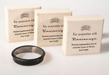 BRAUN POXISCOPE 100MM FOCAL LENGTH, SET OF 3, NEW.