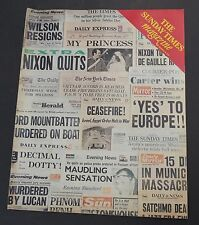 London Sunday Times newspaper magazine Dec 1979 avant garde art Tessa Kennedy