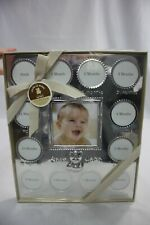 Carter's My First Year Silver Photo Frame, Holds 13 Pictures ~ Child of Mine New