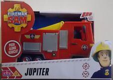 Fireman Sam ~ Jupiter Fire Engine Push Along Vehicle