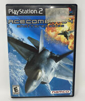Ace Combat 04: Shattered Skies (Sony PlayStation 2, 2001) Complete Tested PS2