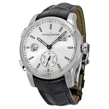 Ulysse Nardin GMT Dual Time Stainless Steel Mens Watch 3343126-91