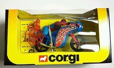 NEW Vintage Corgi 266 SPIDERBIKE Spider-Man