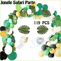 119PCS Balloon Arch & Garland Jungle Safari Theme Party DIY Decorations Supplies