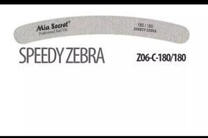 Mia Secret Speedy Zebra 180/180 NailFile