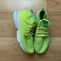 Nike Air Presto SAMPLE Women's 10.5 Men's 9 Neon Shoe Flyknit Never Released!!