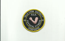 SCOUT BSA 1962 OTSCHODELA CNCL YALE-LYON DIST PHYSICAL FITNESS CAMPOREE MERGED !