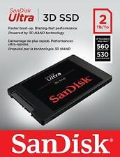 SanDisk Ultra 3d SSD 2TB SATA III