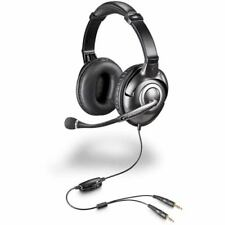 Plantronics Audio 365 Binaural Closed-Ear Gaming Headband Analog Headset - BLACK
