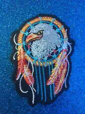 American Eagle Dream catcher Indian Festival Hippie  Iron ON Sew Patch Clothing