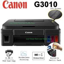 DHL - NEW Canon PIXMA G3010 3 in 1 Inkjet Tank System WIFI Scan Copy Printer