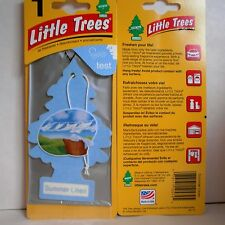 Summer Linen, NEW Little Trees Hanging Car and Home Air Freshener, (Pack of 12)