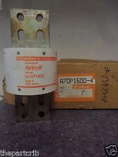 New Ferraz Shawmut A70P1600-4 Bussmann FWP 1600 Amp Fuse Semiconductor 700V NIB
