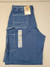 Size 40x36 Mens Loose Original Fit Carhartt Jeans Signature Denim Dungaree