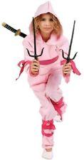 Pink Ninja Girl Costume