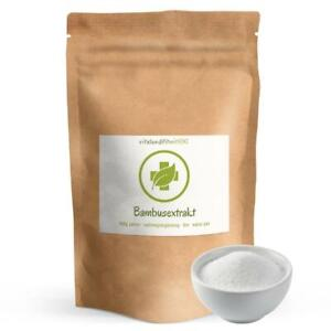 Bio Bambus Extrakt (organisch gebundenes Silizium) 100 g