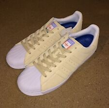 Adidas Skateboarding Superstar Vulc ADV Pastel Yellow Size 8.5 US Skate Shoes