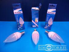 KIT 10 PEZZI LAMPADE LAMPADINE V-TAC E14 LED GOCCIA 4W 6W FREDDA NATURALE CALDA