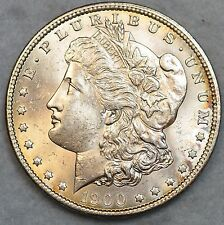 Uncirculated 1900 Morgan Silver Dollar Free Shipping UNC BU GEM 76119