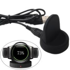 For Samsung Gear S2 Smart Watch R380 QI Wireless Charging Dock Cradle Charger US