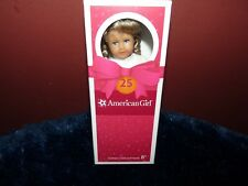 American Girl Doll Mini Kirsten 25th Anniversary Holiday Dress NEW!! Complete