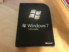 Microsoft Windows 7 Ultimate 32/64 bit FULL RETAIL VERSION (DVD) X12-22652
