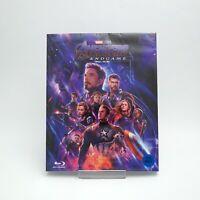 Avengers: Endgame .Blu-ray w/ Slipcover