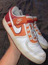 Nike Mens Vandal Low Red Orange Blaze Shoes Size 9.5 Strap Retro 312456-611