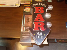 """Led Light-up Double-sided """"Marquee"""" Bar Sign"""