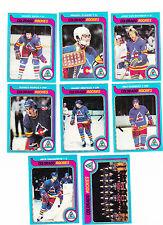1979 / 80 Topps Team SET lot of 8 Colorado ROCKIES NM Barry BECK PAIEMENT