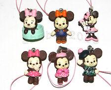 Takara Tomy  Disney Minnie Couture strap Figure Gashapon (full set of 6 figures)