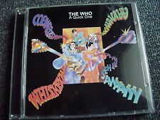 The Who-A Quick One CD-Made in UK
