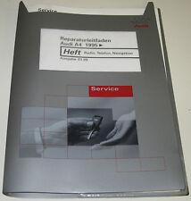 Werkstatthandbuch Audi A4 Typ B5 Radio Telefon Navigation Navi  ab Baujahr 1995!