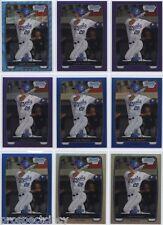 Lot of (415) Lane Adams 2012 Bowman Chrome Prospect RC Refractor Cards - Royals
