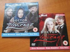 DOCTOR ZHIVAGO DVD KEIRA KNIGHTLY HANS MATHESON SAM NEILL PART 1 & 2 INCLUDED