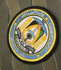 AFG-PAK WAR TROPHY 2011 SSI: FOB SHANK AFGHANISTAN NATIONAL POLICE TRAINING