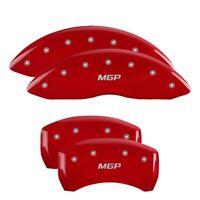 MGP 4 CALIPER COVERS Red for 2020-2021 Kia Telluride 21196SMGPRD