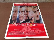 1987 The Whistle Blower Original Movie House Full Sheet Poster