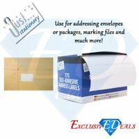 Just Stationary – 175 Self-Adhesive Address Labels