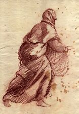 GUIDO RENI  -  Drawing on old paper  1600