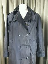 Barbour A605 blue trench coat-Large (Unisexe)