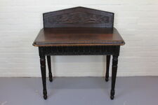 Carved Oak Occasional Hall Table
